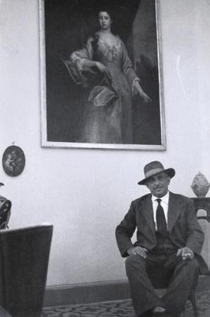 Sergio Larrain, retrato de Giuseppe Russo