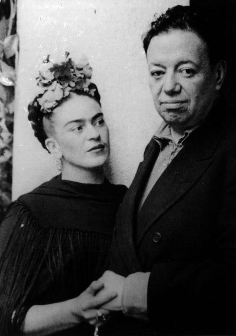 Frida Kahlo y Diego Rivera: una relación tormentosa.