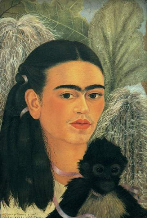 Fulang Chang and I, 1937 by Frida Kahlo