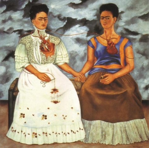 The Two Fridas, 1939 by Frida Kahlo