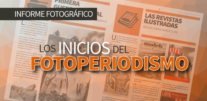 Los inicios del fotoperiodismo