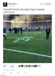 La foto que hizo Tim Cook con su iPhone durante el Super Bowl