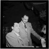 Duke Ellington y Django Reinhardt