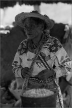 Pueblo indígena huichol El Potrero, Mezquital, Durango Lorenzo Armendáriz, 1991 Fototeca Nacho López, CDI