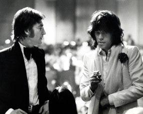 John Lennon y MIck Jagger
