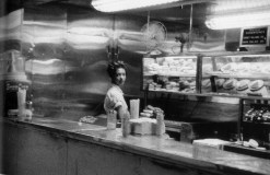 Cafetería, estación de tren. Indianápolis.