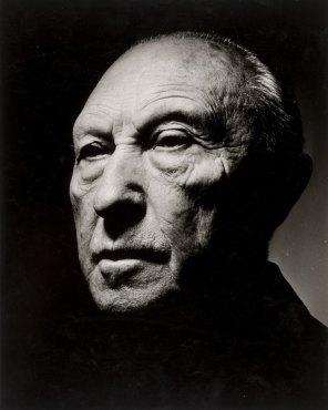 Retrato de Konrad Adenauer