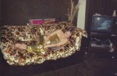 Shelley en su sofá. New York City, 1979