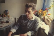 Dieter con tulipanes. Munich, 1984