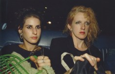 J. y C. Z en el coche. New York City, 1984