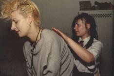 Käthe y pit. Berlín Occidental. 1984