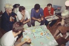 Jugando al Monopoly. New York City, 1980