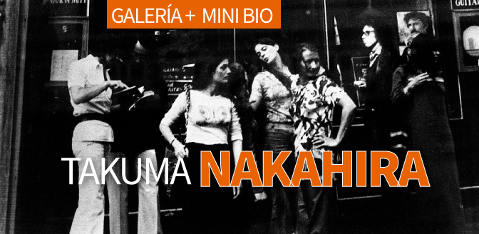 Takuma Nakahira: Galería + Mini Bio