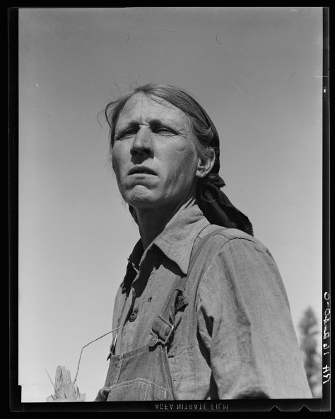 dorothea_lange_Drought refugee from Oklahoma in California_mar1937