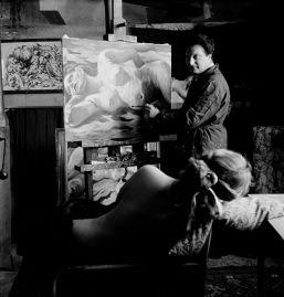 Gordon Parks. Retrato de Carlo Levi