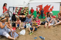 GB. Wales. Buith Wells. Royal Welsh Show. 2018.