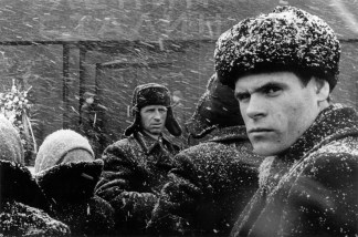 U.R.S.S. Moscow. Winter 1960.