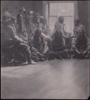 Print. Sioux Indians photographed in Gertrude Kasebier's Studio. PG*69.236.007. Image modified by curatorial staff.