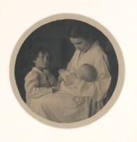 gertrude_Kasebier_madre_hijos_1903