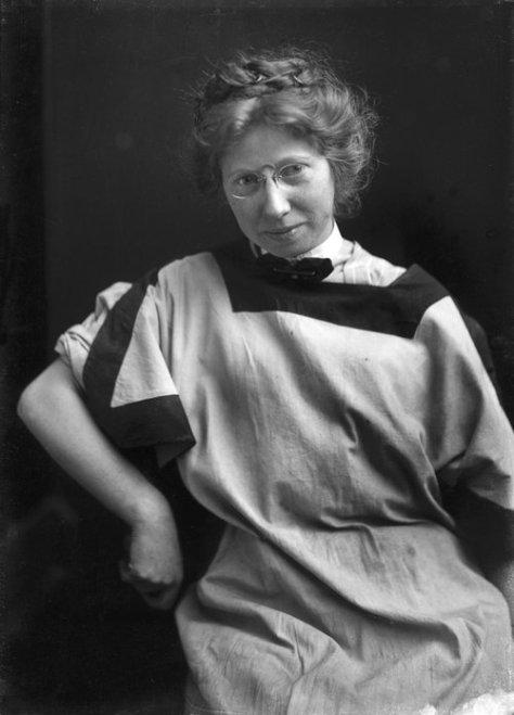 Self Portrait, Edward Curtis Studio, 1908