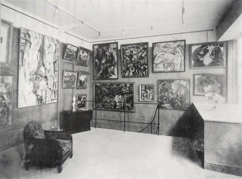 """Exposición """"La Section d'Or """" (1925) Galerie Vavin-Raspail, Paris."""