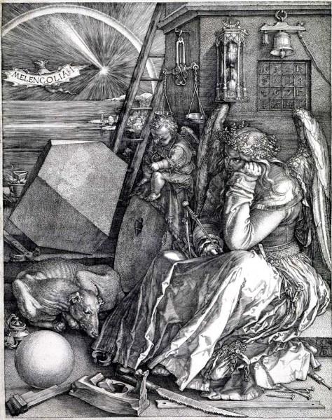 Alberto Durero. Melancolía I (1514)