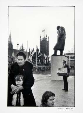 Princess Anne's Wedding, Parliament Square 1973, later print Martine Franck born 1938 Gift Eric and Louise Franck London Collection 2013 http://www.tate.org.uk/art/work/P13432
