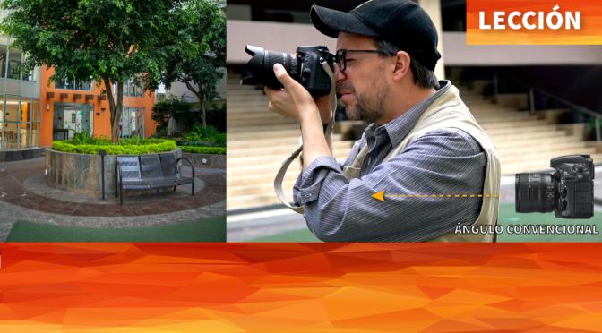 Lección de fotografía: Altura y ángulos de cámara