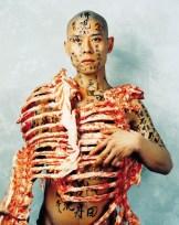 """Zhang Huan. """"1/2"""" 1998 (Beijing, China)"""