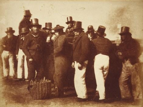 David Octavius HIll & Robert Adamson. Unknown men. Newhaven. (1843-1847)