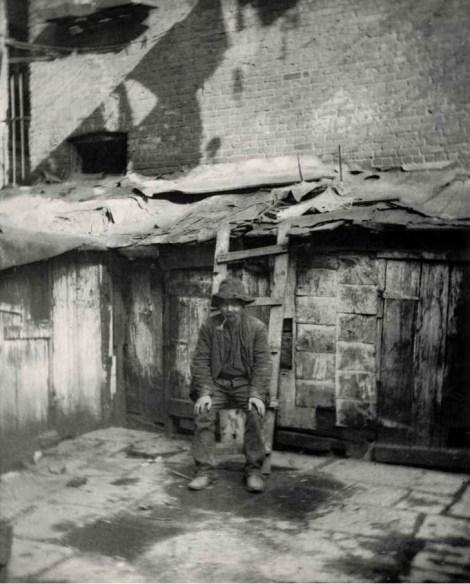 El vagabundo. c1880-90s. Jacob Riis