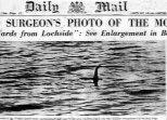 """Publicación de la supuesta prueba de existencia del """"Monstruo de Loch Ness"""" en una época cuando no se cuestionaba a la fotografía como prueba"""