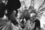 Matera, Italia, el Primer Ministro Colombo inaugura una estatua de Alcide de Gasperi 1971 Henri Cartier-Bresson