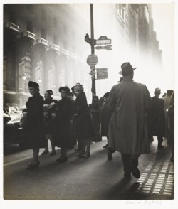 Rebecca Lepkoff. Early Morning Rush, 1947