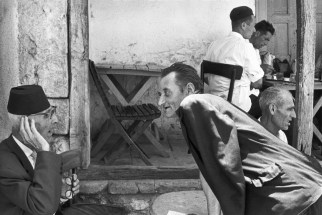 Turkish Coffee Shop, Mostar, Bosnia and Hercegovina 1965 Henri Cartier-Bresson