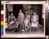 Walker Evans. Bud Fields y su familia