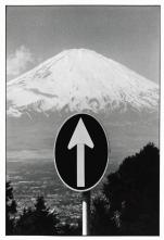JAPAN. Mount Fuji. 1977.Elliott Erwitt