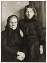 Grandmother and Granddaughter 1911-14, printed 1990 by August Sander 1876-1964