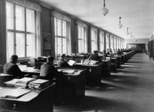 Registratursaal der Nordstern-Lebensversicherungs AG in Berlin