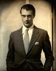 Actor Gary Cooper, 1930