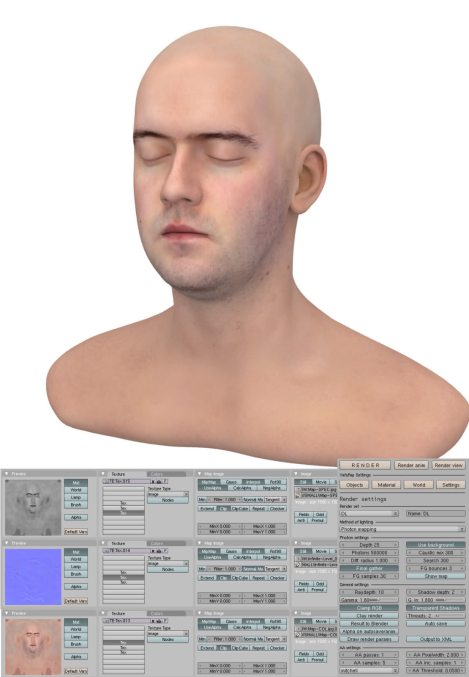 Perry-Smith Head Blender