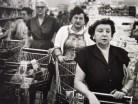 WilliamKlein_17_Four Women,Supermarket,NY,1955