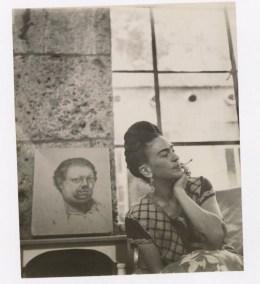 Fotógrafo no identificado. Frida Kahlo