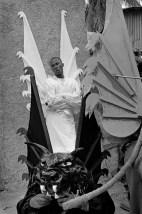 HAITI. Carnival of Jacmel. 2001.