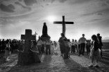 SPAIN. San Vicente de la Sonsierra. Via Crucis. 1981