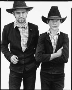 Mart and Mike Kleinsasser, Harlowton, Montana, 1983