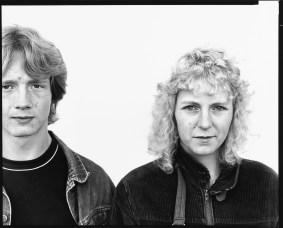 Rick Walters and Thora Rasmussen, Calgary, Alberta, 1983