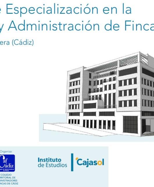 Óscar León: Curso de Especialización en la Gestión y Administración de Fincas
