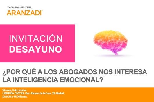 Óscar León: Invitación Desayuno: ¿Por qué a los abogados nos interesa la inteligencia emocional?