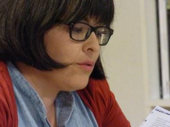Luci Romero, durante la presentación de Western